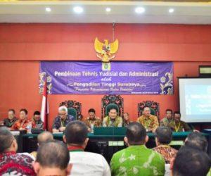 Kunjungan Pengadilan Tinggi Surabaya dalam
